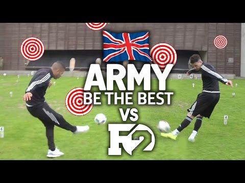 F2 VS BRITISH ARMY!!