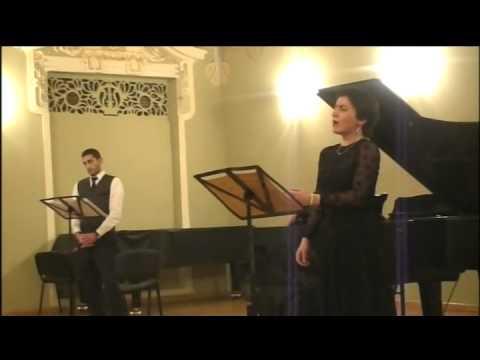 Salome Jiqia, B.Britten, 7 Sonnets of Michelangelo, Sonnet III