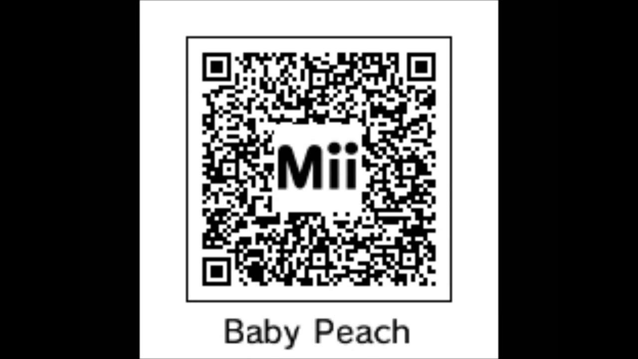 Mairo qr codes for 3ds mii maker .wmv - YouTube