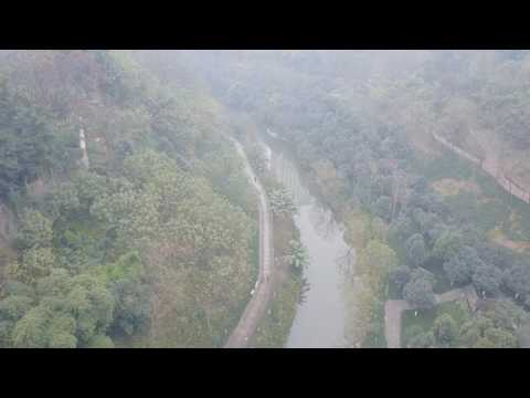Chongqing China by drone
