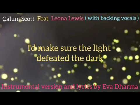 Calum Scott ft. Leona Lewis - You Are The Reason ( Original Instrumental with Backing Vocals )