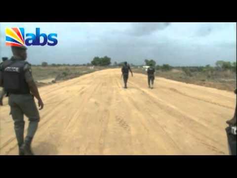 Obiano inspects Odene Eziagulu - Aguleri Otu - Orient petroleum road