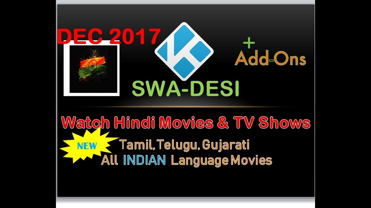Watch online Hindi Channels Free Streaming : SWA-DESI ADD ON - DesiLinks TV  ADDON for KODI