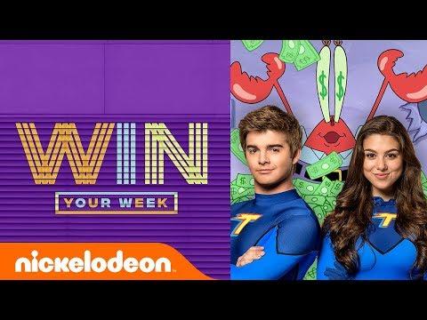 Kira Kosarin & Jack Griffo Read Fan Comments, SLIME!, SpongeBob Challenges, & More! | #WinYourWeek