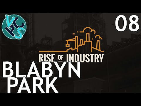 Blabyn Park : Let's Play Rise of Industry EP08 - Alpha 2.0 Transport Tycoon Manufacturing Game