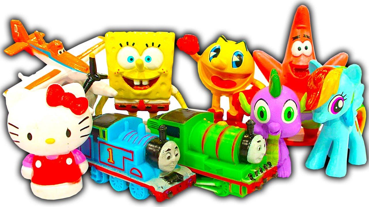 My Busy Books Thomas The Tank Disney Planes My Little Pony Hello Kitty Pacman YouTube