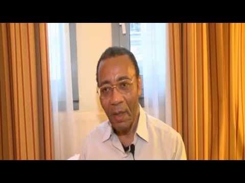 Victor Mpoyo peintre, metaphysicien et politricien, Congolais le plus riche.