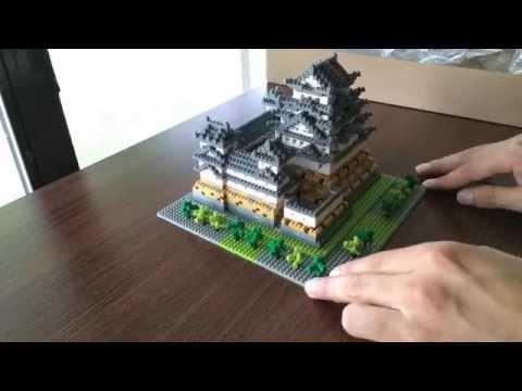 Nanoblock Himeji Castle Time-Lapse