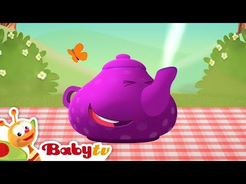 I'm a Little Teapot | Nursery Rhymes | BabyTV