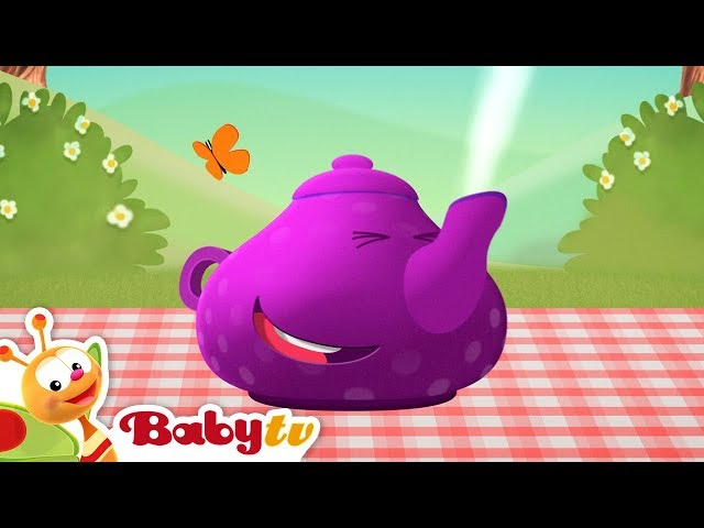 I'm a Little Teapot | Nursery Rhymes and Songs for kids | BabyTV