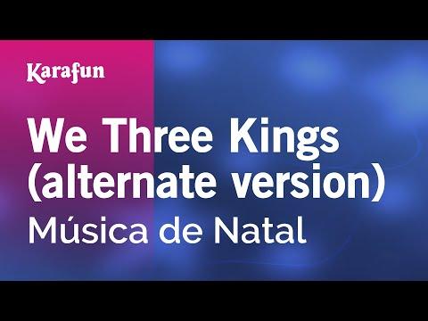 Karaoke We Three Kings (alternate version) - Christmas Carol *