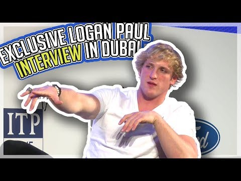 Logan Paul: Exclusive Dubai Interview!!