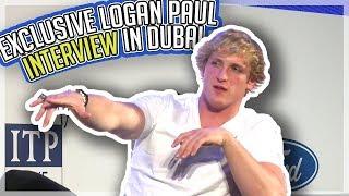 Logan Paul: Exclusive Dubai Interview!!