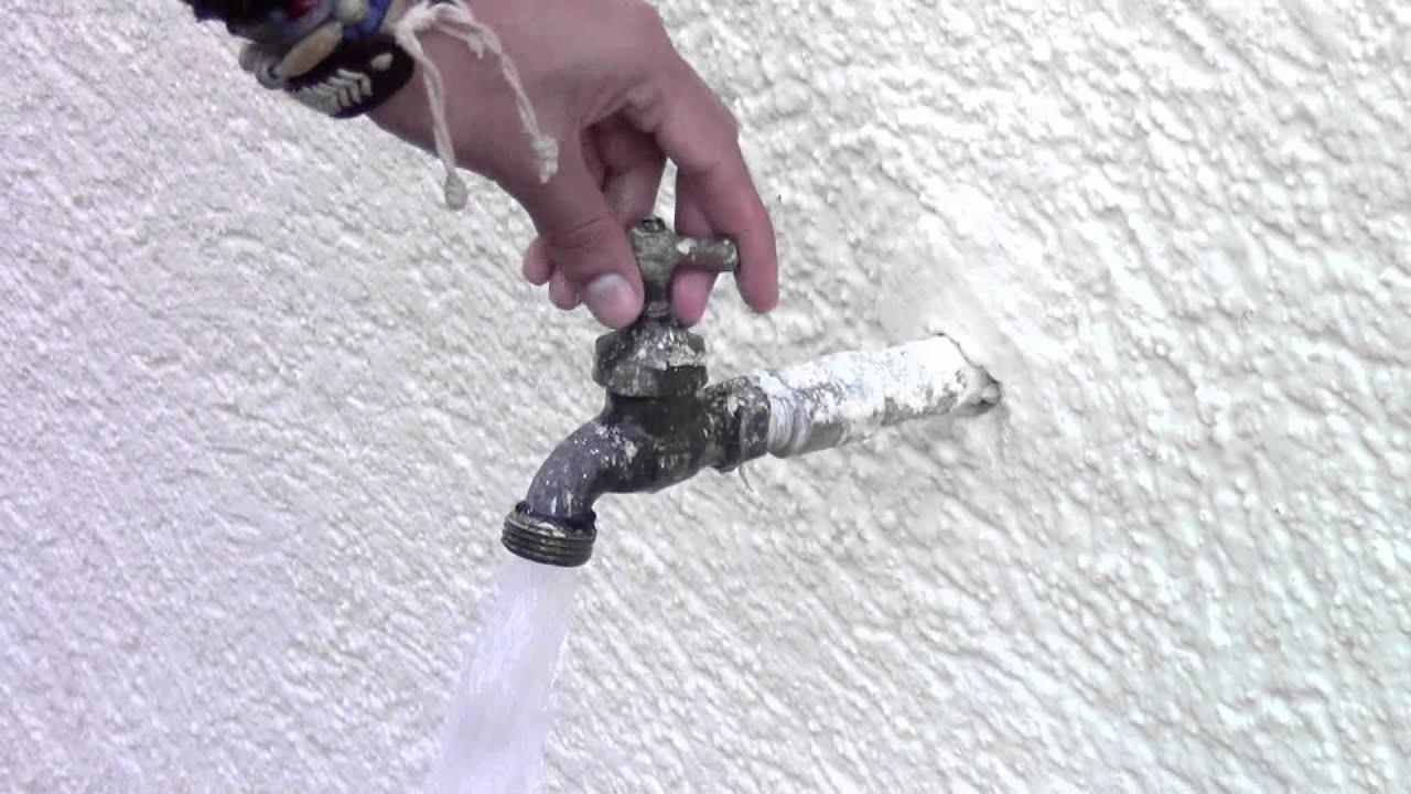 Como cerrar la llave de agua youtube - Como ahorrar agua y luz ...