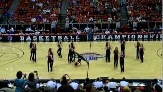 Coronado High School Cougarettes Dance Team - Mountain West Conference Tournament
