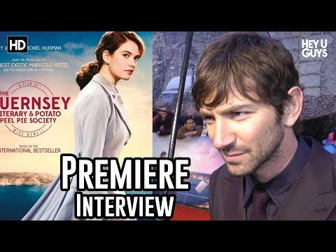 Michiel Huisman on falling in love with The Guernsey Literary and Potato Peel Pie Society Premiere