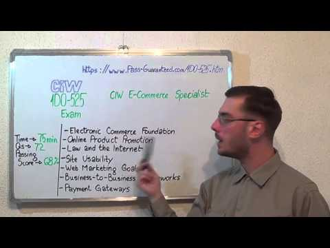 1D0-525 – CIW Exam E-Commerce Specialist Test Certification Questions