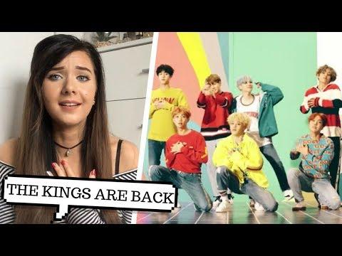 BTS (방탄소년단) 'DNA' Official MV REACTION // ItsGeorginaOkay