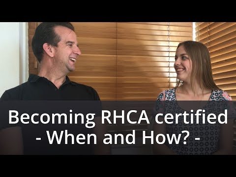 RHCA Certification - When and How to become RHCA certified
