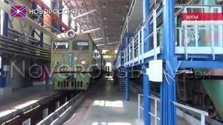 В ЛНР приостановлены пассажирские железнодорожные перевозки(, 2015-08-28T14:28:36.000Z)