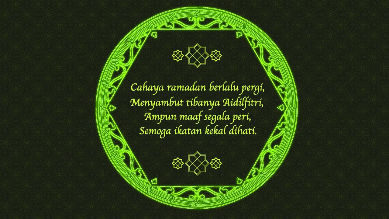 Selamat Hari Raya 2014 Is Creative Greeting Youtube