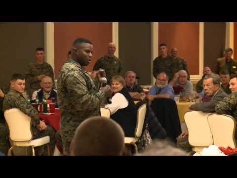 2nd Marine Division Sergeant Major Reception