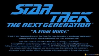 Star Trek TNG: A Final Unity gameplay (PC Game, 1995)