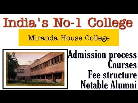 No-1 College Of India || Miranda House College Of Delhi University || @CLUSTERcareer