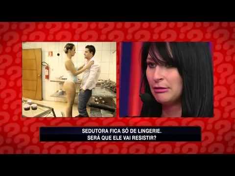 Teste de Fidelidade: Fiel! Sedutora parte para o ataque de lingerie e é rejeitada (9)