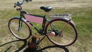 Обзор электро-велосипеда, мотор, АКБ, стоимость, как едет