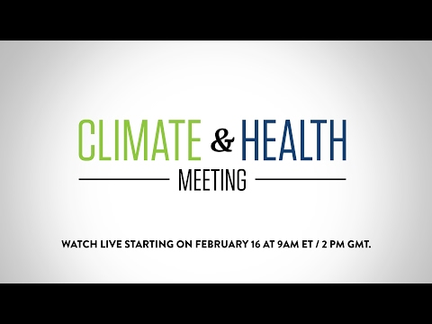Climate & Health Meeting