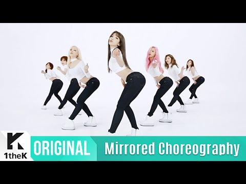[Mirrored] RAINBOW(레인보우) _ Whoo Choreography(거울모드 안무영상)_1theK Dance Cover Contest