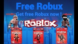 ROBLOX FREE ROBUX LIVE 2018