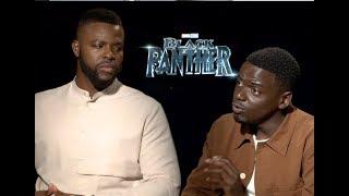 Daniel Kaluuya & Winston Duke detail Black Panther