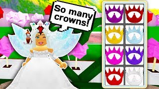 SPENDING 78.000 DIAMONDS ON NEW CROWNS 👑👗 // Roblox Royale High School // Spending 6K Robux