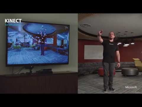 Kinect Butterflies Demo