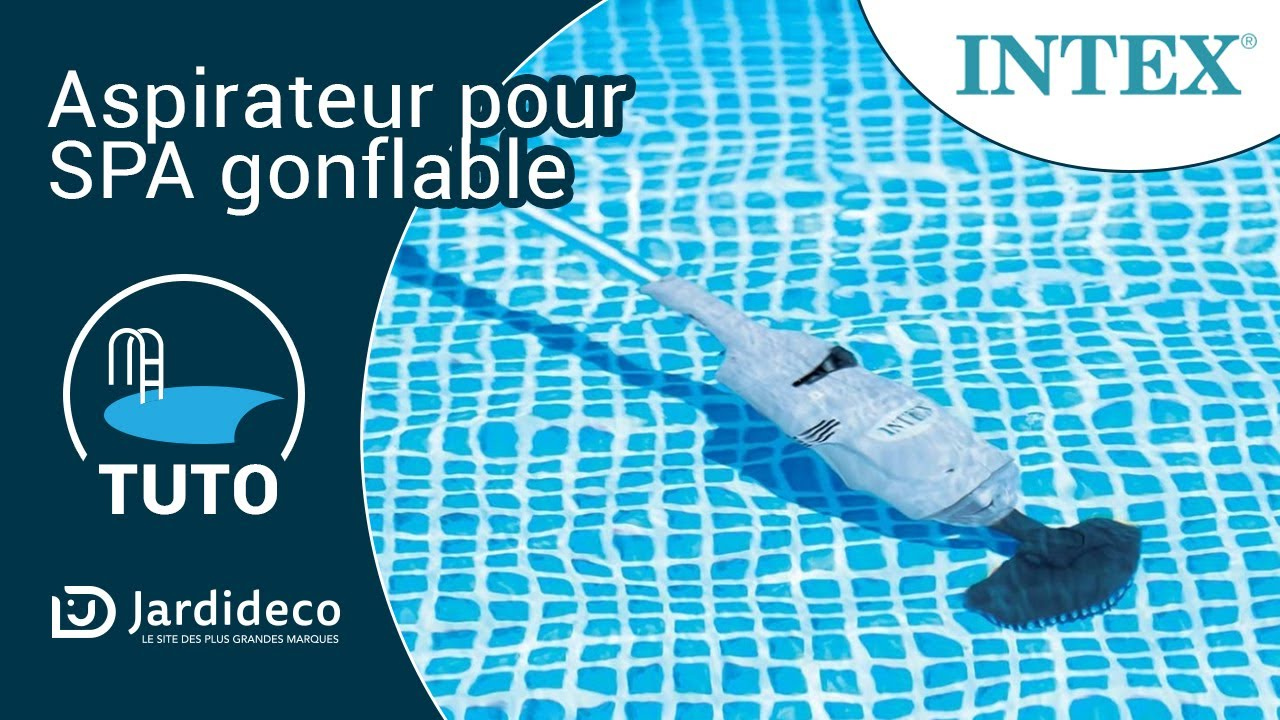 Jacuzzi Spa Gonflable Test Aspirateur Pour Spa Gonflable Intex - Youtube