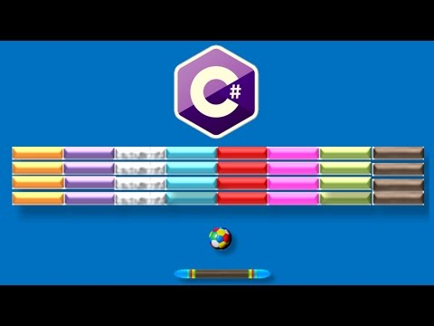 How to program Your Own Breakout Game Using C# and Winforms