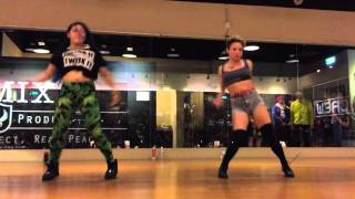Dancehall workshop by DHQ Fraules