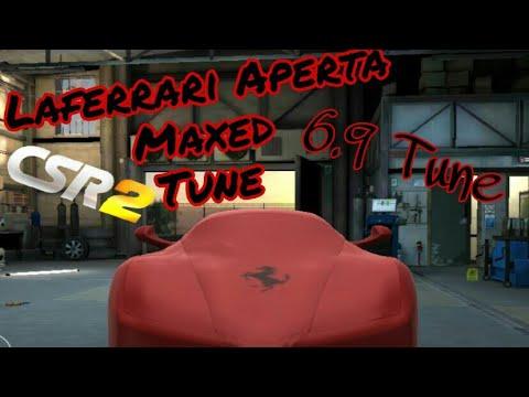 Csr2 LaFerrari Aperta Maxed Tune (1 13 3) | CSR RACING 2 by TheGhostfaceYT
