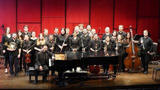 """Beethoven Piano Concerto No. 5, """"Emperor"""" (Gustavo do Carmo, piano; Fernanda Lastra, conductor)"""