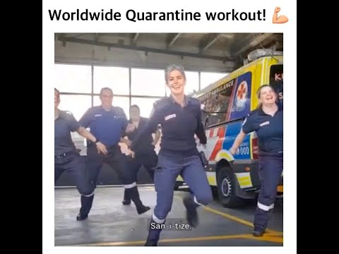 My Quarantine Workout Went GLOBAL , You Guys !!