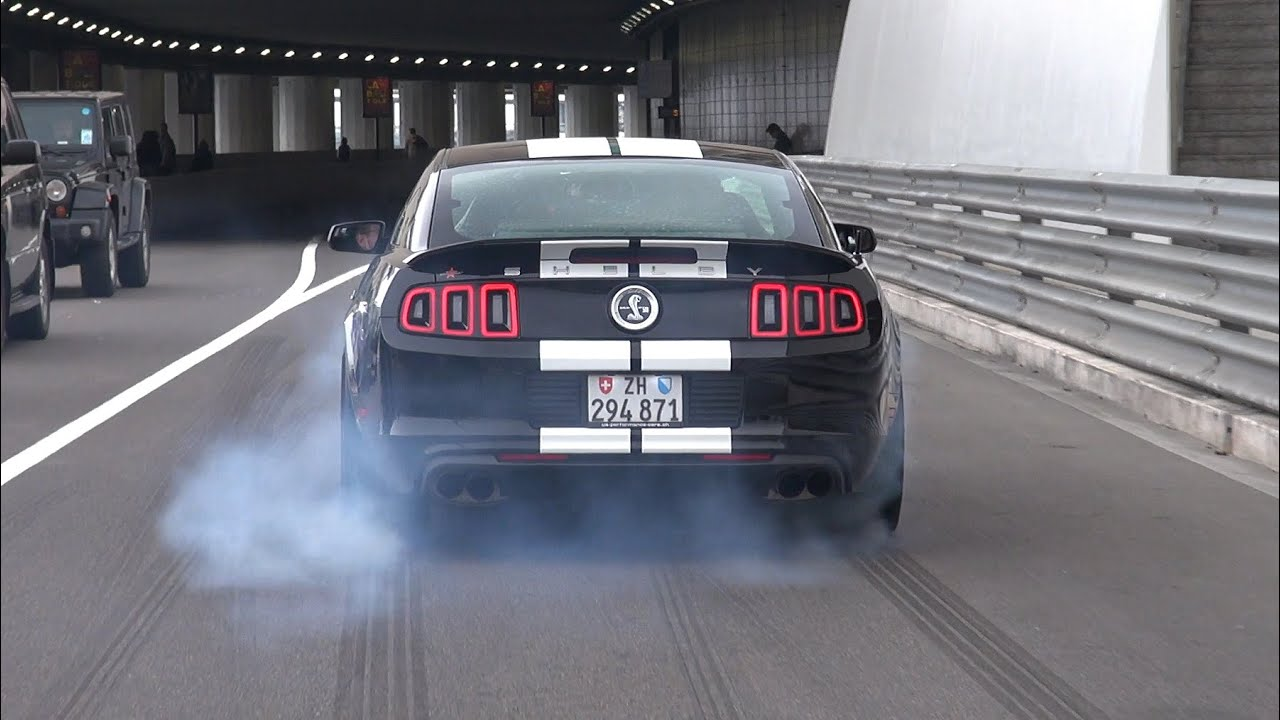 Ford Shelby Mustang GT500  Brutal Accelerations  YouTube