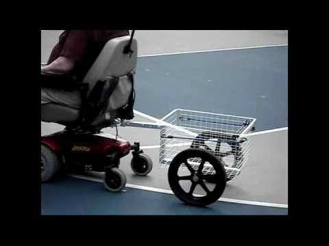 Jazzy Power Chair Trailer Video Youtube