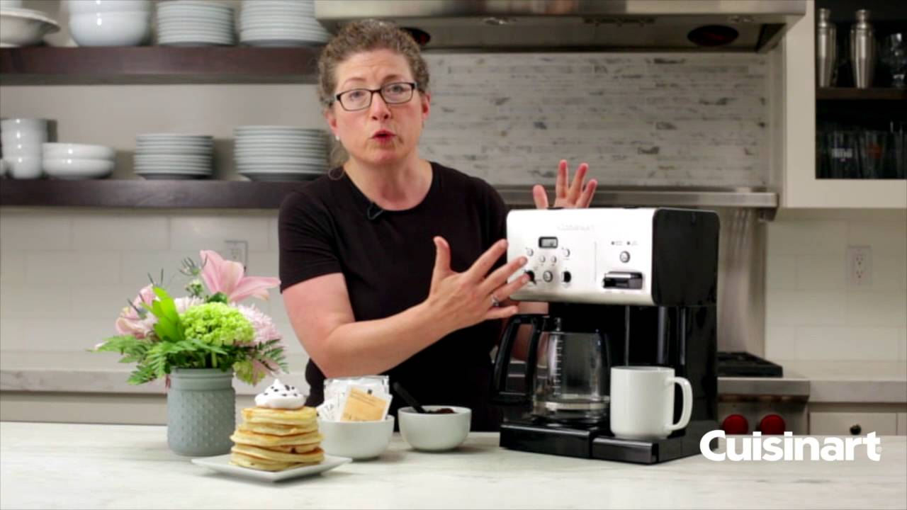 6161e6e5f5c Coffee Plus™ 12 Cup Programmable Coffeemaker Plus Hot Water System (CHW-12).  Cuisinart