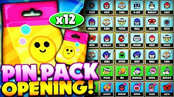 12x NEW PIN PACK OPENING! - GEMMING 36 Total Pins + New Epic & Rare Pin Pulls! - May Update