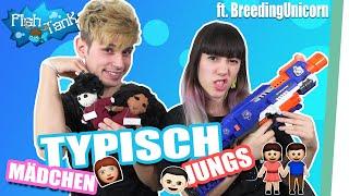 TYPISCH Mädchen, TYPISCH Junge! - [#FishTank] ft. BreedingUnicorns