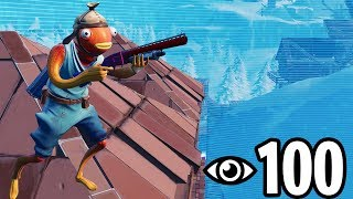 I hosted a Custom Games Scrim with 100 Players... (INSANE Ending!)