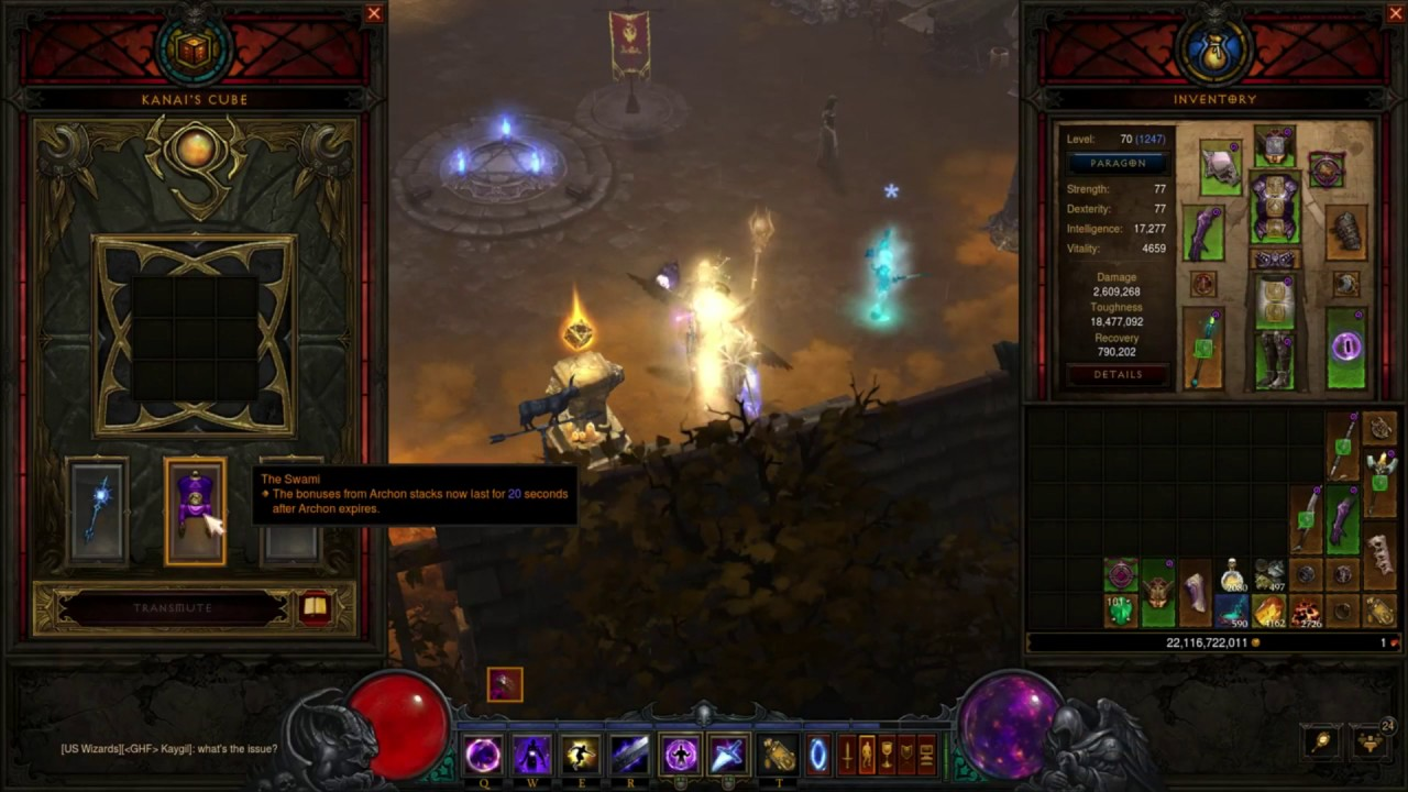 [D3 2 4 3] - Manald Heal + Convention of Elements + Spectral Blades Group  GR Build Guide