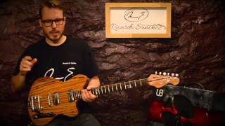 Luke Sullivant custom guitar and demo